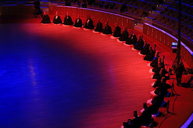 Церемонии в Конья прошли без зрителей