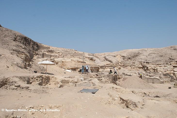 Некрополь в Саккаре