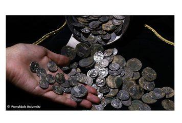 Клад римских монет найден в Турции