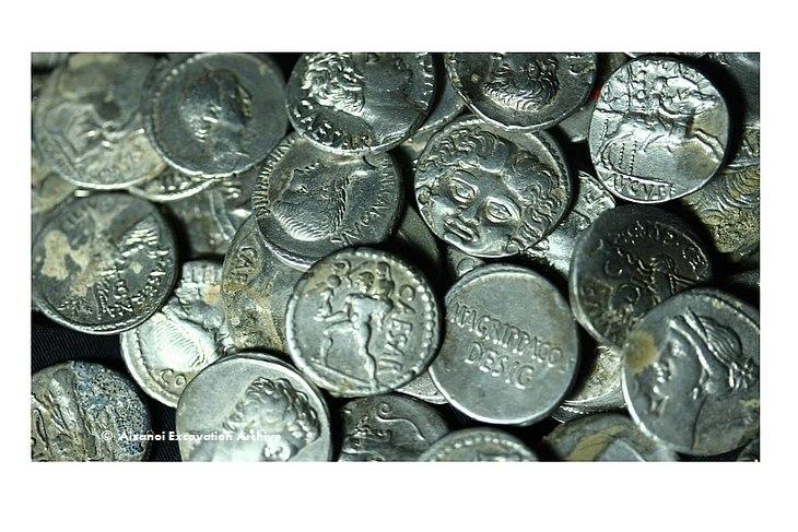 Римские монеты из Айзаной