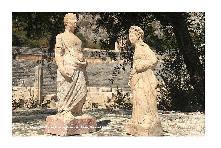 Скульптуры из Демре