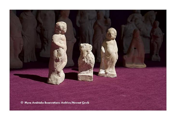 Статуэтки ликийской эпохи