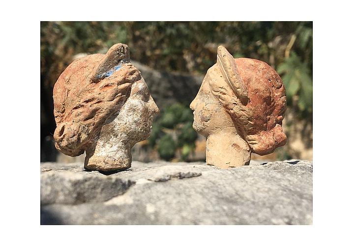 Терракотовые фигурки из Демре