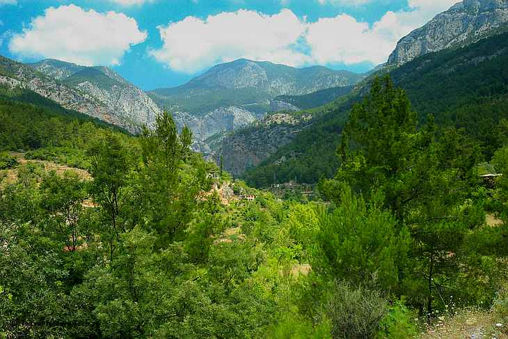Горы Турции
