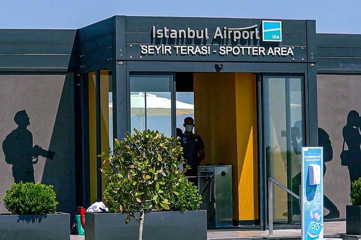Споттинг-площадка в аэропорту Стамбул примет первых посетителей