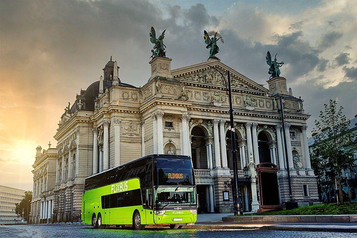 Flixbus открывает маршрут Киев-Пльзень, а из Львова — на Вроцлав и Будапешт