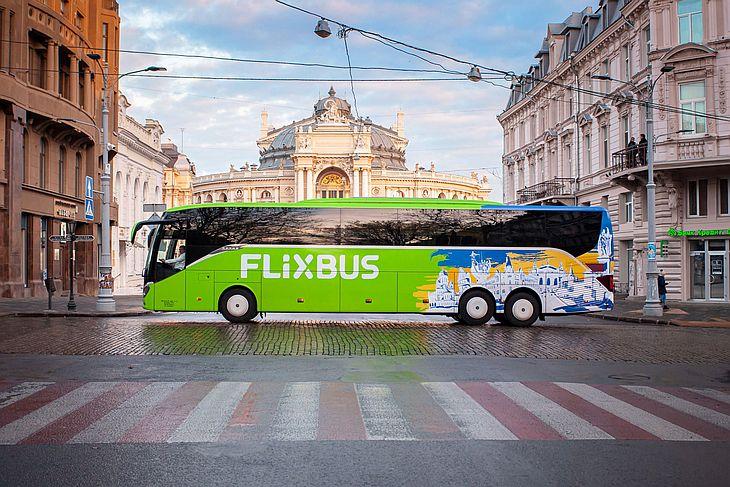 Калуш-Одесса — новый маршрут Flixbus откроется 20 августа