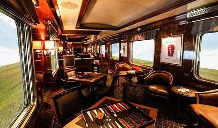Интерьер поезда Стамбул-Кайсери