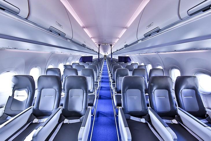 Пассажиры Lufthansa первыми оценят новый салон Airbus Airspace