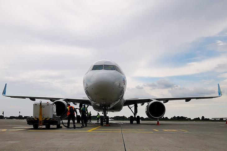 Авиакомпания Eurowings выполнила первый рейс в Киев (фоторепортаж)