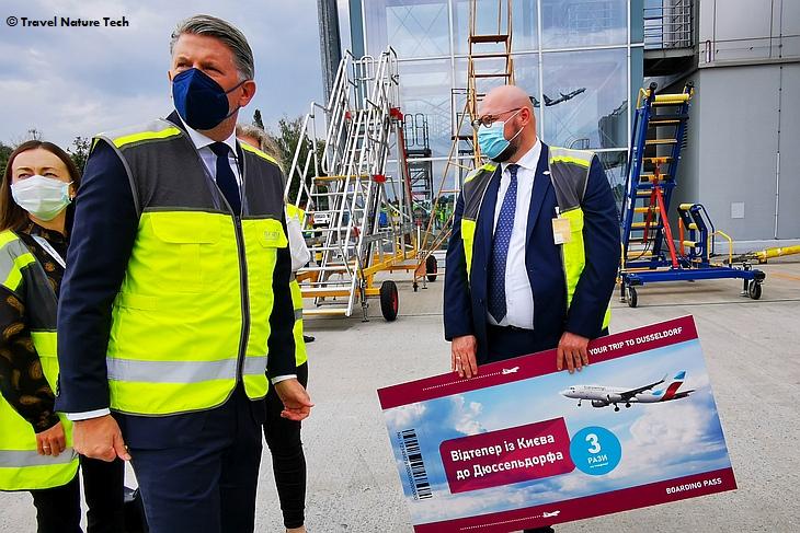авиакомпания Eurowings - первый рейс