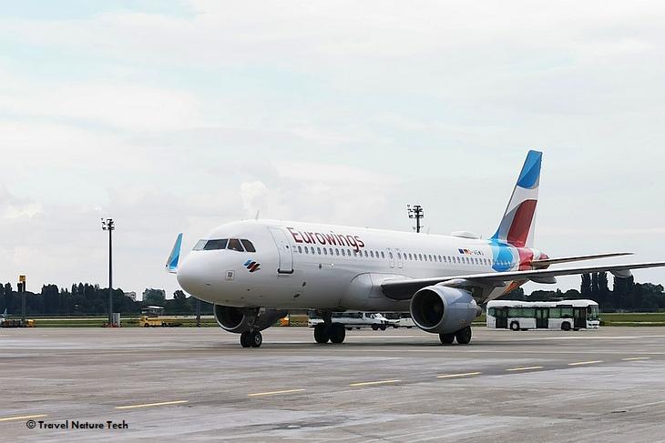 Лоукостер Eurowings выполнил первый рейс Киев-Дюссельдорф