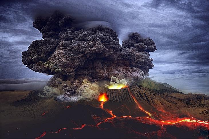 Извержение вулкана: топ-9 этих катастроф в истории цивилизации